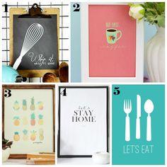 Oltre 1000 idee su Stampe Per Cucina Stampabili su Pinterest  Sacchi ...