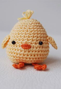 Amigurumi Chick in an Egg Shell Pattern