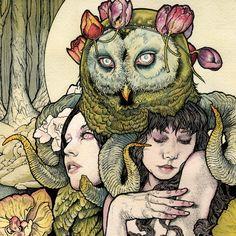 A Perfect Monster — Official art blog of John Dyer Baizley.  Album art for Kvelertak.