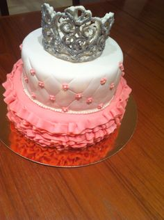 Princess birthday cake for 4 year old girl!!