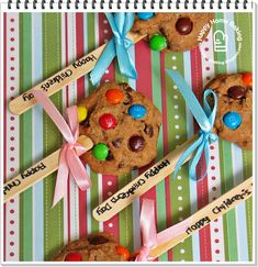 Happy Home Baking: cookies on sticks