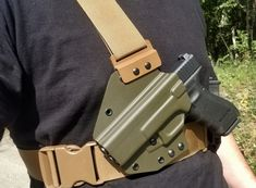 Chest Holster/Hunting Holster Custom Holsters, Hardware Components, Kydex, Hunting, Fighter Jets