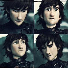 Hiccup at Stoick's funeral. :'( <== oh the feels :'(