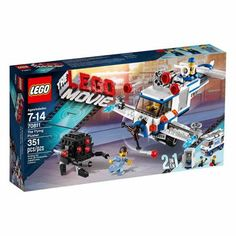 #walmart LEGO Movie The Flying Flusher Building Set - $20.99 (save 30%) #lego #toys #buildingsets