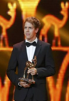 "Vettel:""I want to thank the academy for awarding me the Bambi award, I'm not sure what it's for, but I set it on my lawn as a decoration! Bambi Awards, F1 Drivers, Keep Fighting, F 1, My Hero, Lawn, Racing, Decoration, Fictional Characters"