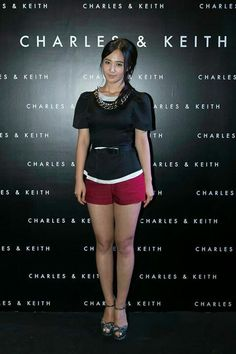 Seohyun, yuri, hyoyeon, at Charles & Keith opening event in singapoore