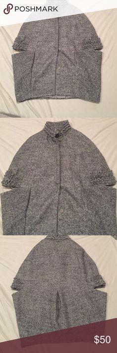 New Cape Jacket Gumuxi XL Never worn! Adorable on! gumuxi Jackets & Coats Capes