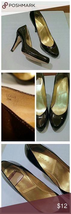 "Tahari ""Lolly"" brown heels In beautiful condition. Just a couple minor superficial marks that aren't very noticeable. Tahari Shoes Heels"