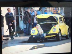 "Jennifer Morrison and Raphael Sbrage - 6 * 5 ""Street Rats"" - Behind the scenes - 24 August 2016"