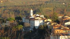 A lovely village view from the top of San Miniato (Pisa)