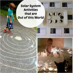 Solar System Activities. Approved by Andrea Beaty, Author of ROSIE REVERE ENGINEER. #STEAM #STEM.