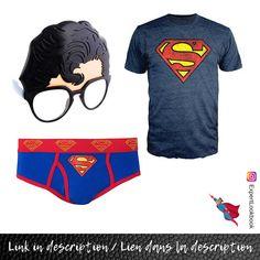 Superman T Shirt, Clark Kent, Mode Masculine, Your Girlfriends, Mens Fashion, Glasses, Stuff To Buy, Shirts, Moda Masculina
