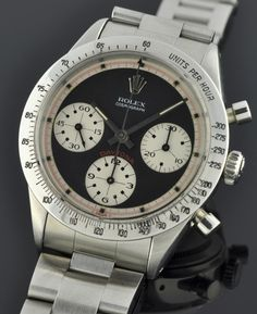 1965 Rolex Daytona with Paul Newman dial  www.ChronoSales.com for all your luxury watch needs, sign up for our free newsletter, the new way to buy and sell luxury watches on the internet. #ChronoSales