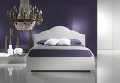 blue violet bedroom