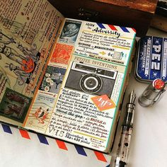 Journal Inspiration by @jose_naranja | Share your Passion for All Things Stationery with #aTypicalJournal