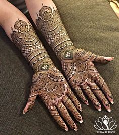We have got a list of top Mehndi designs for Hand. You can choose Mehndi Design for Hand from the list for your special occasion. Henna Hand Designs, Mehndi Designs Finger, Indian Henna Designs, Mehndi Designs For Girls, Mehndi Designs For Fingers, Mehndi Design Pictures, Henna Tattoo Designs, Mehndi Images, Dulhan Mehndi Designs