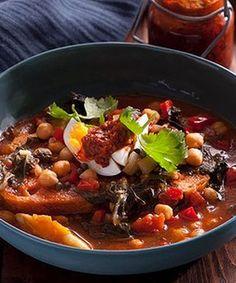 Tunisian Breakfast soup.