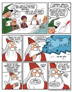 Dumbledore is mistaken