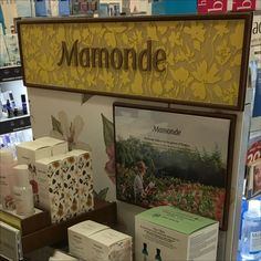 This Subtle But Richly Colored Manonde Endcap echoes the flower and floral focus behind their approach to skincare. Few others in the field have staked out Clipboard, Close Up, Frame, Floral, Flowers, Painting, Color, Home Decor, Art
