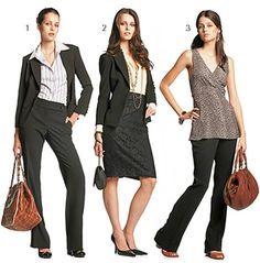 Roupa feminina social para trabalho