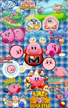 Kirby Collage - 1997 to 2011 by AmbrosianSummers on deviantART
