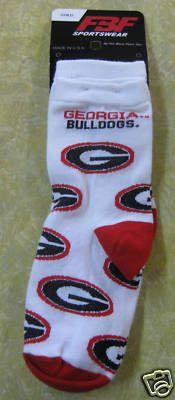 Georgia Bulldogs Socks