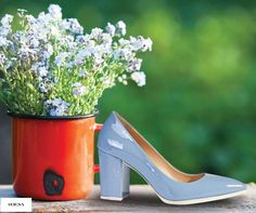Mavinin en güzel tonu Desa ayakkabılarında.  Desa, #Espark zemin katta.