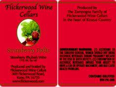 Strawberry Fields - Strawberry Rhubarb wine