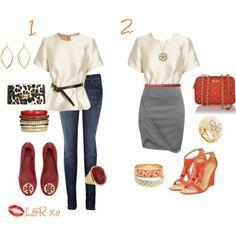 #jeans, #skirt, #highwaist