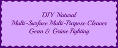 #NFr6K Do you or someone you know hate the smell of cleaning with vinegar? But you still want to clean with a natural, effective DIY cleaner? Here is my blog post on just that subject. DIY Germ & Grime Fighting Recipe – Multi-Surface Cleaner without vinegar. NFR6K Blog Natural & Frugal: Raising 6 Kids @NturalCheree on Twitter @Raising6kids on Instagram http://raising6kids.wordpress.com/2014/10/04/germ-grime-fighter/