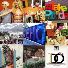 What a great year on Instagram @wehoarts had! #2015bestnine in #WeHo #wehoarts #wehoreads #onecityonepride #thebiancadelrio #noextrai #wehocity #moncho1929 #takepride #outfest #thomasdambo #wehopride