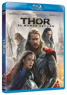 Caratulas de CD y DVD: Thor: El Mundo Oscuro [Blu-ray] Chris Hemsworth (Actor, Lead partner), & 2 Most Rated: Not recommended for children under 13 years Format: Blu-ray Price: Euro 11.95