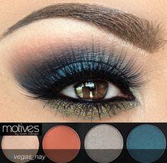 Loveeeee this eye look by vegas_nay using Motives Cosmetics!