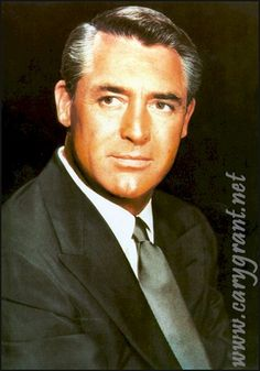 Cary Grant - one of my all-time favorite stars.
