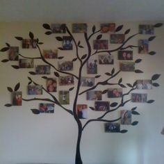 Friend and family tree.