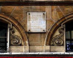 P1050076 Paris Ier rue de Richelieu n°39 plaque commémorative Diderot rwk - Denis Diderot — Wikipédia