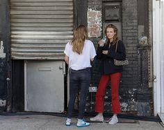 On the Street - Gansevoort Street, New York