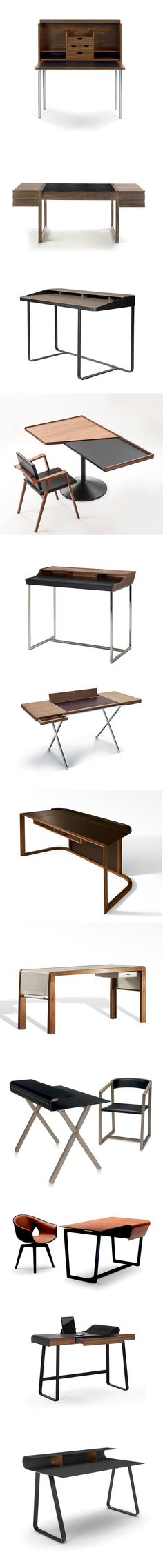 Feel a Dash of Old Time Luxury With Leather Writing Desks for Your Home or Office