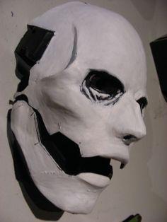 Scary mask.