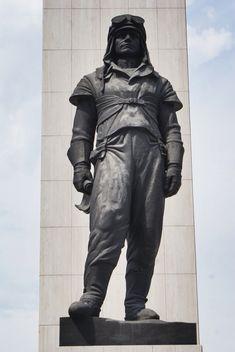 Statue à Bratislava