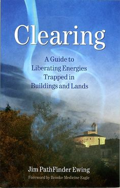 This is my first book, Clearing, published in 2006 and now in multiple editions and five languages. It's available from @FindhornPress and bookstores worldwide. Or, our webpage: www.blueskywaters.com