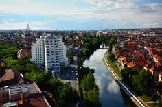 Panorama Oradea River, Architecture, City, Places, Outdoor, Beautiful, Romania, Europe, Arquitetura