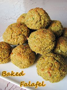 Cook book of trial and error: Baked Falafel