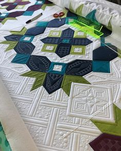 """476 Likes, 32 Comments - Judi Madsen (@judiakagreenfairy) on Instagram: """"Looking forward to being back in my studio today and working on my #gypsyquilt - this is going to…"""""""
