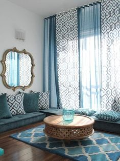 16 Moroccan Home Decoration Ideas https://www.futuristarchitecture.com/33728-moroccan-home-decoration-ideas.html #DIYHomeDecorCurtains