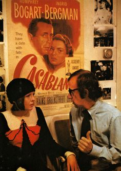 "Diane Keaton with Woody Allen in""Play it Again, Sam""  (1972)"