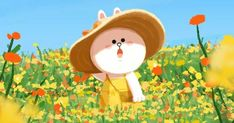 Cony Line Illustration, Character Illustration, Cony Brown, Brown Bear, New Toy Story, Lines Wallpaper, Cute Love Gif, Little Panda, Line Friends