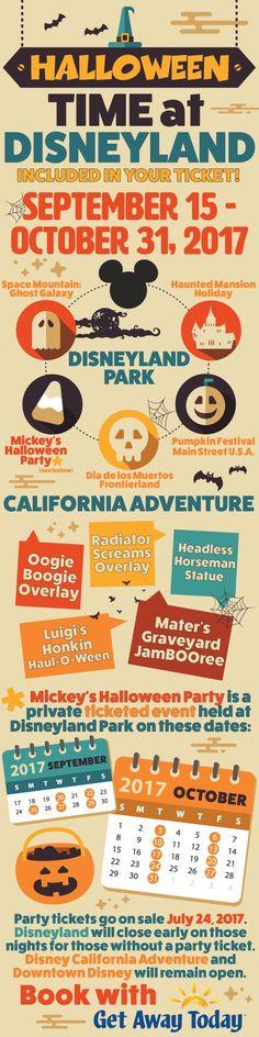 (check) Halloween Time at Disneyland 2017 || Get Away Today