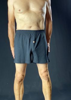 Eco-friendly Hemp Boxer Shorts - Black or Beige | ASATRE
