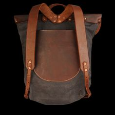 Stanley & Sons - Backpack in Brown Twill